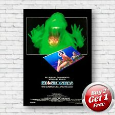 Ghostbusters 1984 Film Movie Poster A3 Un-Framed Art Print V3