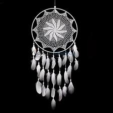 """43.3"""" Large Handmade Dream Catcher with White Feathers Wall Hanging Decor Gift"""