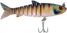 Zerek Live Mullet 781LM45OG-Orange Gill Soft Plastic Jointed Swimbait Lure 23g