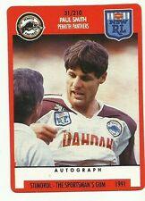 PENRITH PANTHERS PAUL SMITH 1991 NRL SCANLENS STIMOROL #31 CARD