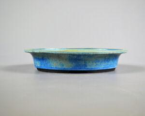 Bonsai Schale - Handmade - Frank Müller-Frostfest - ca.30x23,5x6 cm  - 21/177
