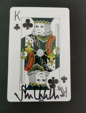 More details for  only fools and horses signed playing card by john challis boycie