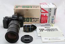 F-601 Nikon AF, vintage analog camera & macro lens Tamron AF 28-300mm F/3.5-6.3