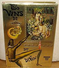 Salvador Dali Les Vins de Gala Wine Guide HC DJ 1st French ED Surrealist