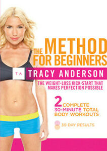 TRACY ANDERSON - THE METHOD FOR BEGINNERS DVD [UK] NEW DVD