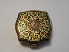 New ListingVintage Stratton Hippie Psychedelic Tripping Style Pill Box ~ Made In England