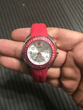 New Swiss Military Calibre Women's 06-6S1-04-004 Sealander Red Watch Rotating