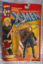 TOY BIZ 1993 MARVEL THE UNCANNY X-MEN (SERIES 5) LONGSHOT ACTION FIGURE (MOC)