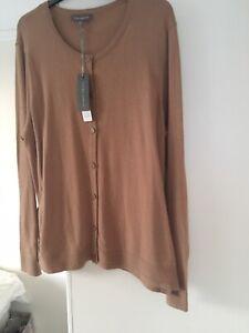 Brown Laura ashley Cardigan Size 16 NWT
