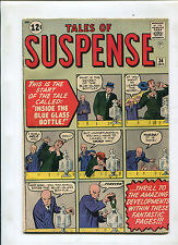 TALES OF SUSPENSE #34 (7.0) INSIDE THE BLUE GLASS BOTTLE