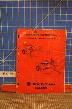 Vintage New Holland Baler Manual 2 Of 2
