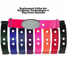 Replacment Collar for Perimeter Technologies ® Dog Fence Systems pick your color