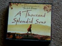 KHALED HOSSEINI - A THOUSAND SPLENDID SUNS -  AUDIO BOOKS -     ( 5 CDS )