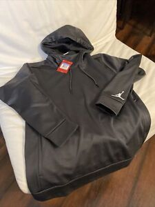 Nike Jumpman Air Jordan Hoodie Gray Thermafit Size M (NEW) MSRP $65