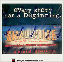 Entertainment Trading Cards Box: Smallville Series 1 Trading Card Box (36)