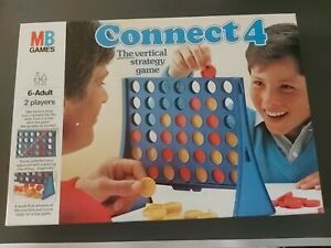 Connect 4 Board Game Vintage 1984 MB Games Edition - Preowned vgc