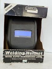 Lincoln Electric Kh605 Auto Darkening Welding Helmet Fixed Shade 10s
