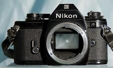 Nice Pre-owned Nikon Em 35mm Slr Black Camera Body