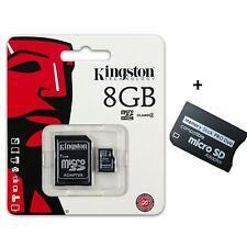 Memory Stick Pro Duo 8Gb PSP Produo 8 GB Kingston