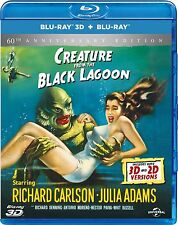 Creature From The Black Lagoon 3d 2d Blu-ray