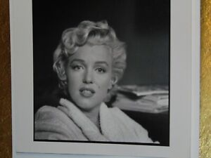 Vintage MARILYN MONROE Portrait in Bathrobe by BOB HENRIQUES MAGNUM PHOTOS 1958
