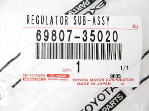 Genuine OEM Toyota 69807-35020 Tailgate Power Window Regulator 2003-2009 4Runner