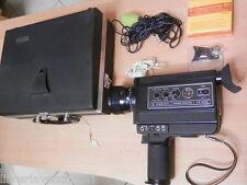 Vecchia cinepresa telecamera COSINA MAGIC SOUND MS 8000 con nastro microfono di
