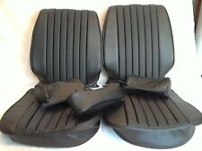 Mercedes Benz seat covers 450SL black Vinly 1972-79