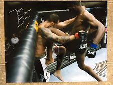 "JON ""BONES"" JONES (SIGNED/AUTO!)~(16x20) PHOTO!! 205lb CHAMP!!!"
