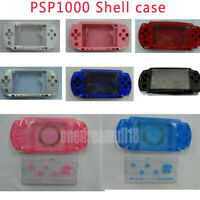 For PSP1000 PSP 1000 Console Replacement Housing Shell Case With Buttons Kit