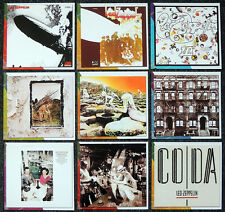 LED ZEPPELIN REPRO ALBUM COVERS PHOTO CUTS FROM BOOK . JIMMY PAGE ROBERT PLANT