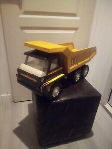 camion benne gozan colossus truck superbe état 60 cm style tonka regular Rico