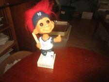 New York Yankees Troll Baseball Bobblehead Doll