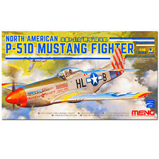 Meng 1//48 LS-006 NORTH AMERICAN P-51D MUSTANG FIGHTER MODEL KIT ◆