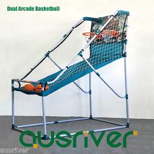 Adults Teenager Dual Arcade Basketball Electronic Score Board Blue Mullion 780