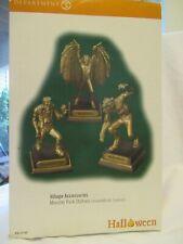 New Listingdept 56 halloween monster park statues Euc! set of three in orig box #53166