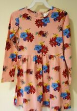 NWT Hanna Andersson Perfect Pink Floral Elizabet Dress Size 130 / 8