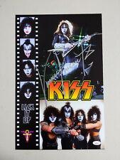 VINNIE VINCENT Signed 11x17 KISS Poster Autograph JSA BAS BECKETT COA E