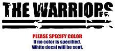 """The Warriors Band Rock music Vinyl Decal Car Sticker Window bumper Laptop 12"""""""