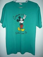 Cinnaminson High School 2011 -- Disney World -- T.Shirt -- Size Large - Green.
