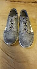 Women NIKE FREE TR FLYNIT 804534 002 GREY SILVER SIZE 5.5 tried on once no box