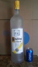 New listing Huge Ketel One Vodka Citroen Sealed Unopened Glass Vendor Display Liquor Bottle