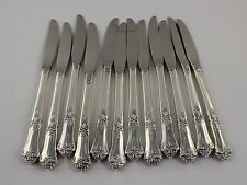 "State House Stately Sterling Silver Grille Knives - 8 3/8"" - Set of 12 - No Mono"