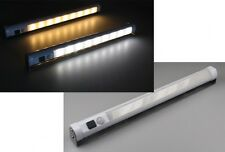 3 er Set LED-Unterbauleuchte Möbelleuchte weiß Bewegungsmelder Batterie 19886