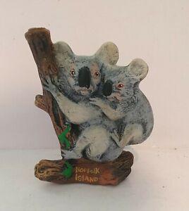 Vintage Australian Pottery Koala Sealed Gum Tree Liquore Bottle