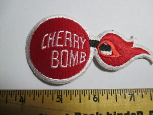Cherry Bomb Patch Pyrotechnics Illuminations Fireworks Party Favors NOS 60's