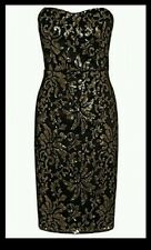 NEXT GOLD SEQUINED DRESS SIZE 12 REG NEW WITH TAGS