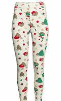 BNWT H&M Women Pusheen Christmas Xmas Cat Jersey Leggings Size M - Kawaii Chibi