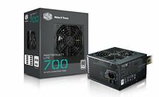 Cooler Master MasterWatt Lite 700w 230v 80plus White 120mm Fan Active PFC e