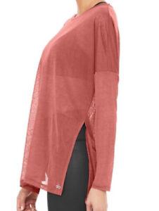 ALO Arrow Oversized Long Sleeve T-Shirt